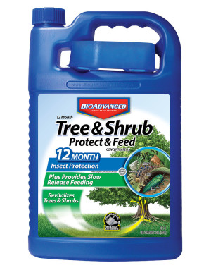 BioAdvanced 12 Month Tree & Shrub Protect Feed Concentrate 2-1-1 4ea/1 gal