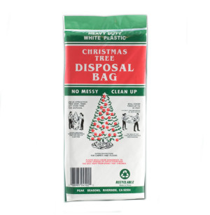 Peak Seasons Jumbo Tree Removal Bag White 36ea/Jumbo