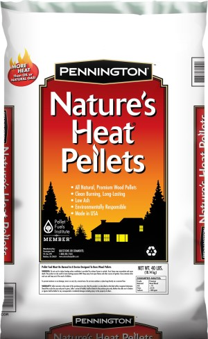 Pennington Nature's Heat Wood Pellets 50ea/40 lb