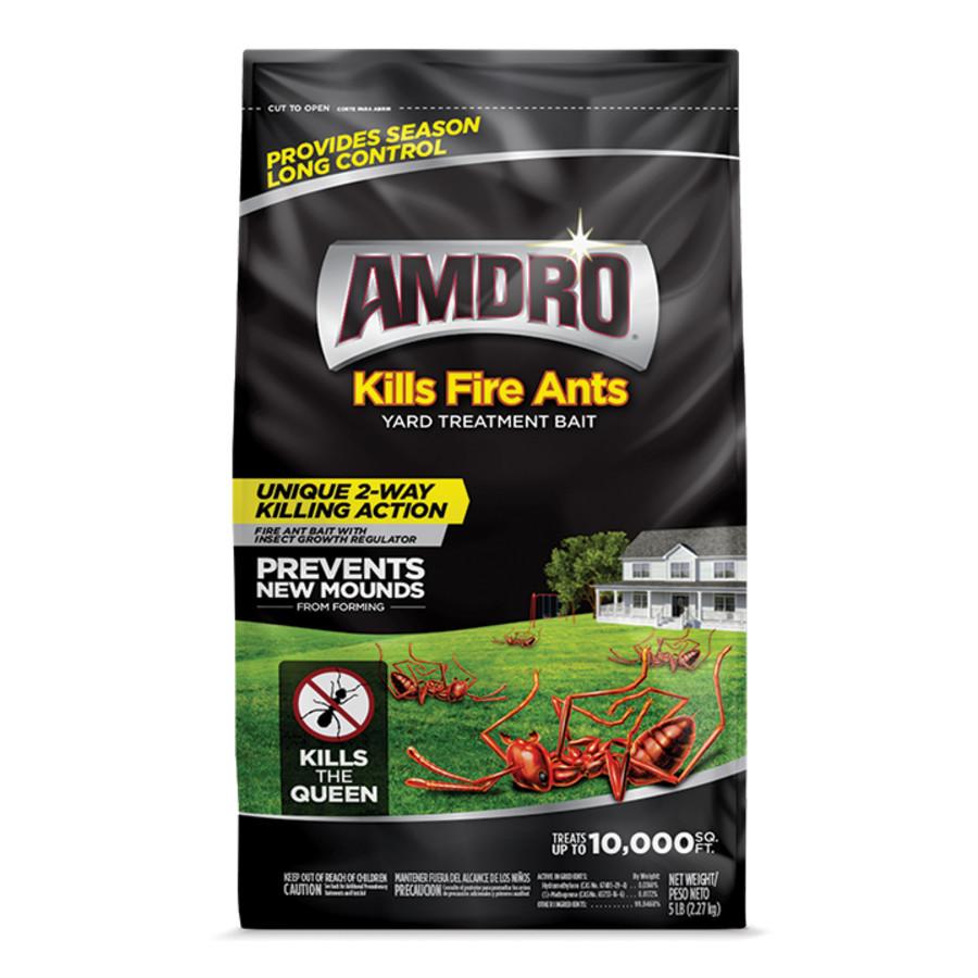 Amdro Yard Treatment Bait Kills Fire Ants Granules 3ea/5 lb