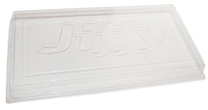 Jiffy Gro-Dome Plastic Tray Cover Clear 50ea/11Inx22 in