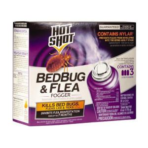 Hot Shot Bedbug & Flea Fogger Indoor 6ea/3Pk 2 oz