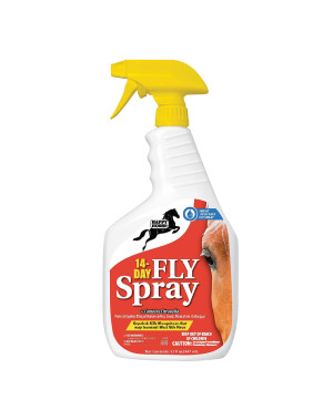Harris Happy Horse Fly Spray Sweat Resist 14 Day Control 12ea/32 fl oz