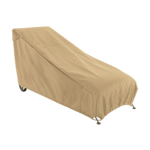 Classic Accessories Terrazzo Patio Chase Lounge Cover Sand 1ea/Large