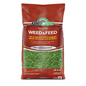 Pro Care Pro Care Phospherous Free Weed & Feed 25-0-4 50ea/15M 39 lb
