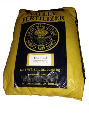 Valley Fertilizer 10-6-4 1ea/50 lb