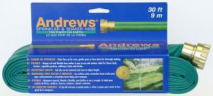 Andrews Two Tube Sprinkler Hose Green 6ea/30 ft