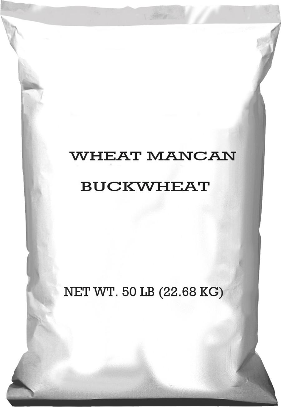 Pennington Wheat Mancan Buckwheat 1ea/50 lb