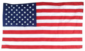 Flag Zone Nylon United States Flag Sewn and Embroidered 6ea/3Ftx5 ft