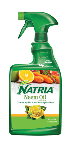 BioAdvanced Natria Neem Oil Ready To Use Organic 8ea/24 fl oz