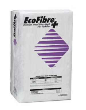 Profile EcoFibre Wood Fiber Mulch with Tackifier Green 1ea/50 lb