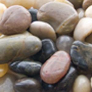 Panacea Polished River Rock Mix 12ea/2 lb
