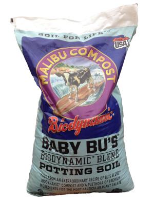 Malibu Compost Baby Bu's Biodynamic Blend Potting Soil 1ea/1.5Cuft