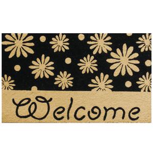 Robert Allen Mat Welcome Daises 5ea/18Inx30 in