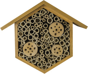 """Supermoss Beneficial Bug Hotel """"Hibiscus"""" Honey 1ea/6.75 In (W) X 8.75 In (H)"""