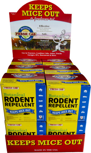 Fresh Cab Botanical Rodent Repellent Pouches 12ea/4 pk
