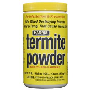 Harris Termite Powder Kills Wood Destroying Insects, Mold & Fungi 12ea/16 oz