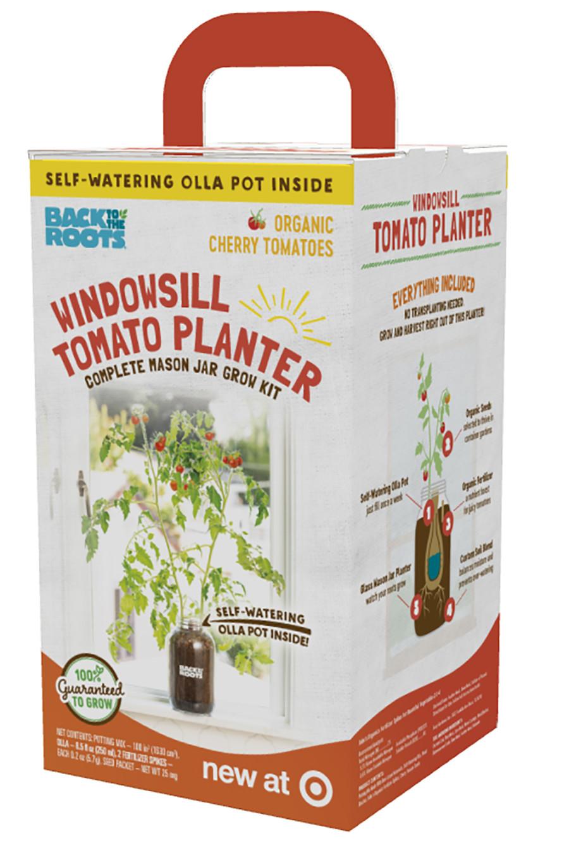 Back to the Roots Windowsill Planter Organic Cherry Tomato 1ea