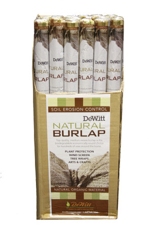 DeWitt Natural Burlap Natural 12ea/3Ftx48 ft