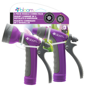 Bond Bloom 2 Piece Nozzle Combo Pack Purple 6ea
