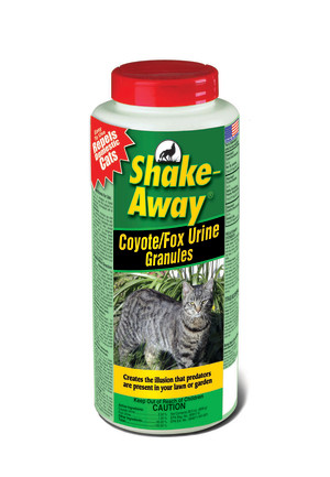 Shake-Away Coyote/Fox Urine Cat Repellent Granules Organic 12ea/28.5 oz