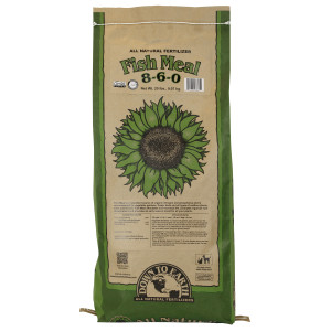 Down To Earth Fish Meal Natural Fertilizer 8-6-0 OMRI 1ea/20 lb