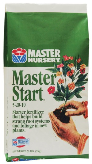 Master Nursery Master Start Fertilizer 5-20-10 5ea/20 lb