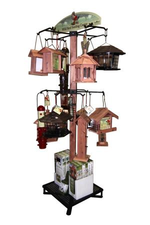 Cedar Works Wild Bird Feeder Display 1ea/Display