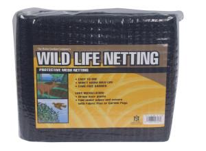 Master Gardner Wildlife Netting Protective Mesh Black 20ea/14Ftx14 ft
