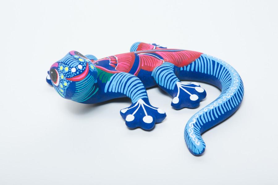 Talavera Salamander Puebla Multi-Color 6ea/Small