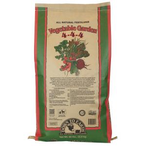 Down To Earth Vegetable Garden Natural Fertilizer 4-4-4 1ea/50 lb