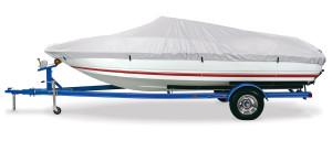 DMC Gulfstream Boat Cover 150D A Silver 1ea/14-16Ftx90 in