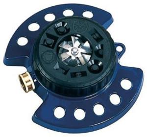 Dramm ColorStorm Turret 9-Pattern Sprinkler Blue 2ea