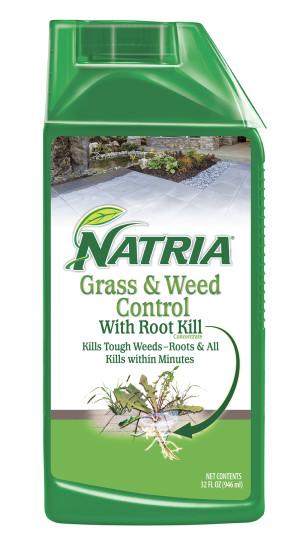 BioAdvanced Natria Grass & Weed Control Green Bottle 4ea/32 oz