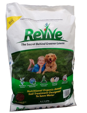 Revive Soil Treatment Lawn Granules Organic 1ea/25 lb