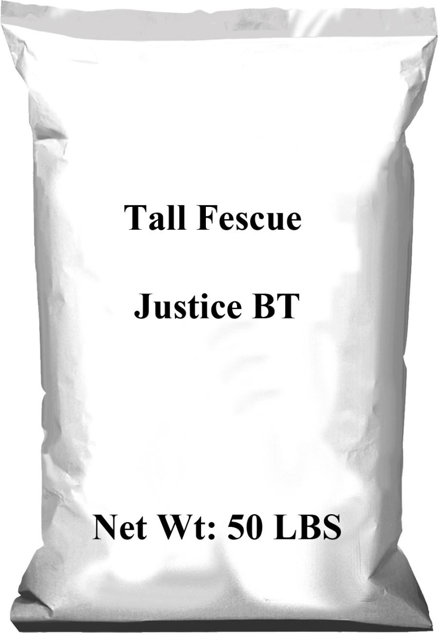 Pennington Tall Fescue Justice BT 1ea/50 lb