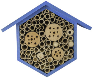 """Supermoss Beneficial Bug Hotel """"Hibiscus"""" Sky Blue 1ea/6.75 In (W) X 8.75 In (H)"""