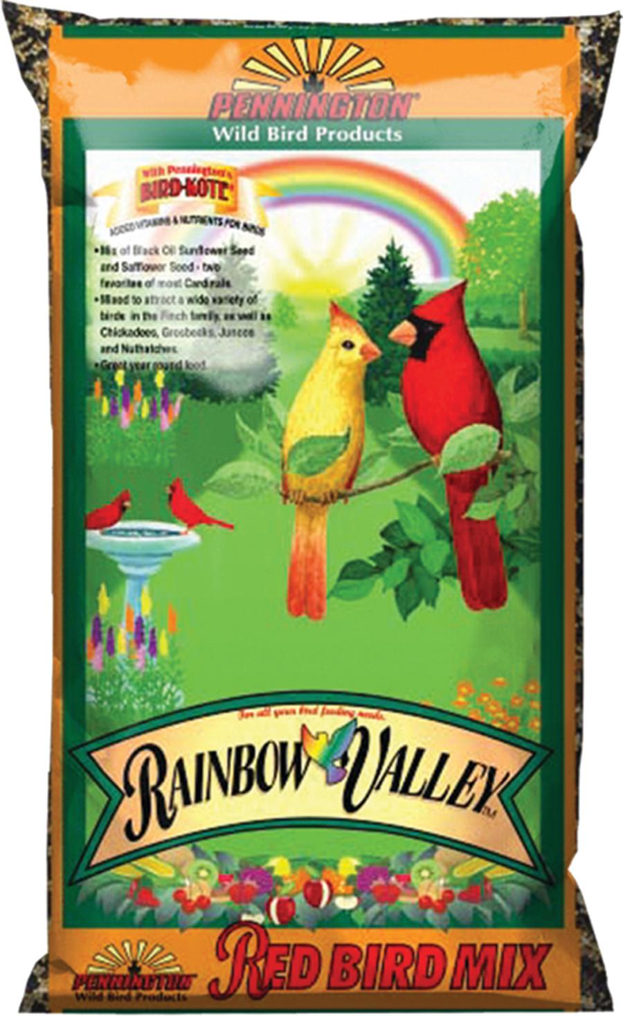 Pennington Red Rainbow Valley Bird Mix 8ea/7 lb