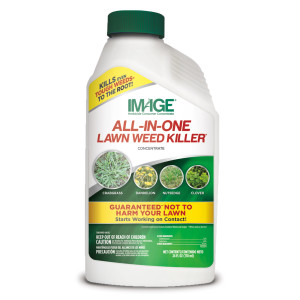 Image All-In-One Lawn Weed Killer Herbicide Concentrate 6ea/24 oz