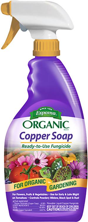 Espoma Organic Copper Soap Fungicide Ready to Use 6ea/24 fl oz