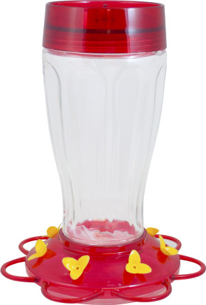 Classic Brands More Birds® Big Gulp Hummingbird Feeder Big Gulp Red 4ea/40 oz