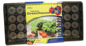 Jiffy Professional Greenhouse Tray Grows 36 Tomato Plants 16ea