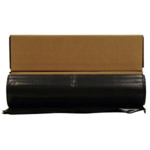 Poly America Plastic Sheeting Black 1ea/4 Mil 20Ftx100 ft