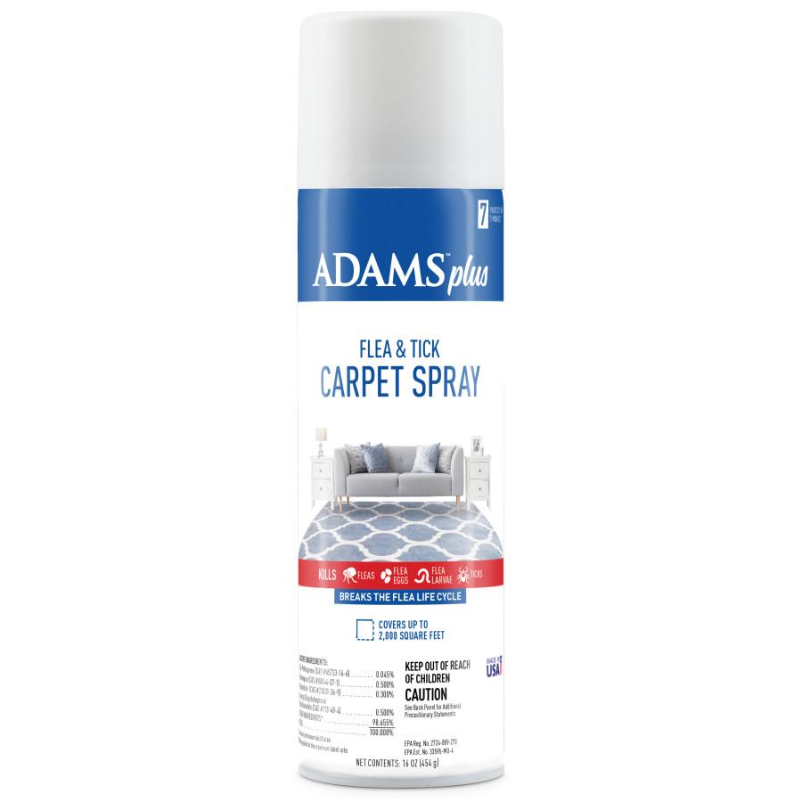 Adams Plus Flea & Tick Carpet Spray, For Indoor Use 12ea/16 oz