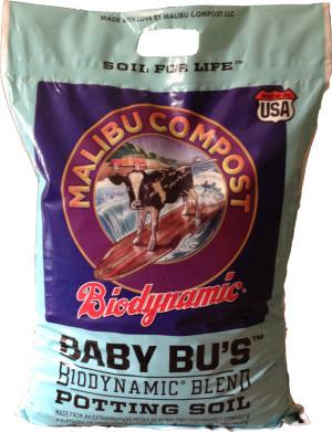 Malibu Compost Baby Bu's Biodynamic Blend Potting Soil 1ea/12 qt