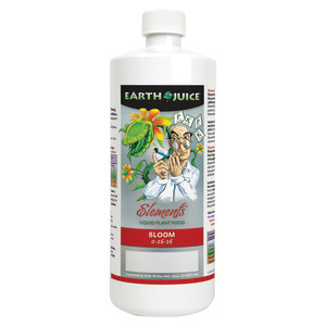 Earth Juice Elements Bloom Liquid Plant Food 0-16-16 12ea/32 oz