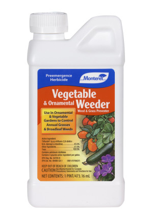 Monterey Vegetable & Ornamental Weeder Pre Emergent Herbicide Concentrate 12ea/16 oz