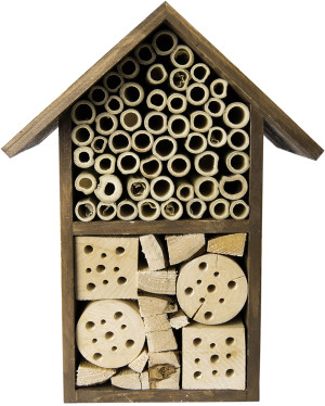 "Supermoss Beneficial Bug Hotel ""Tulip"" Chestnut 1ea/5.5 In (W) X 11 In (H)"