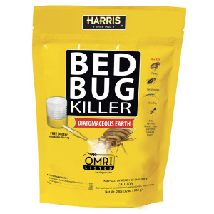 Harris Bed Bug Killer Powder with Free Duster 12ea/32 oz