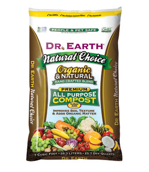Dr. Earth Natural Choice All Purpose Compost 1ea/1 cu ft